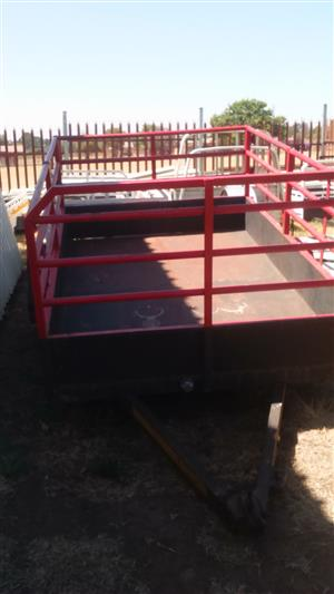 Trailer with railings for sale