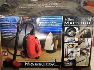 Maestro high pressure steamer & iron