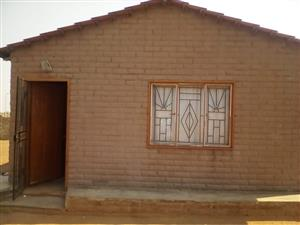 2 Bedrooms house in kanana about 1km to jubilee mall in hammanskraal
