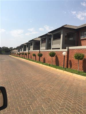2Bdr townhouse in a security complex