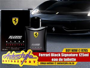 Ferrari Black Signature 125ml eau de toilette