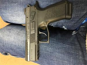 CZ P-07 9mm with accessories