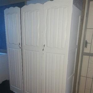 3 door antique wardrobe