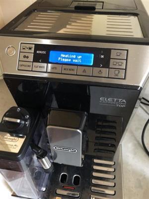 Delonghi Eletta Cappuccino Top Coffee Machine