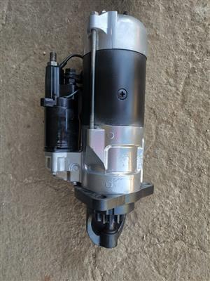 We refurbished starters motor for any machine komatsu and cat
