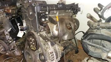 Hyundai Getz 1400 16V Engine # G4EE