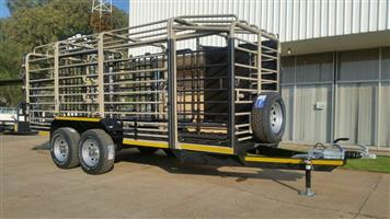 5.5M Sheep / Cattle - Single Deck TRAILERS