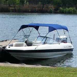 Sensation 19ft boat with Mariner 150 Optimax