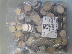 400 Mandela Coins sealed in bag from the mint