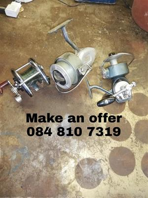 Fishing reels for sale