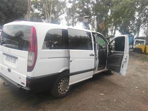 MERCEDES BENZ VITO 115 WHITE STRIPING FOR SPARES