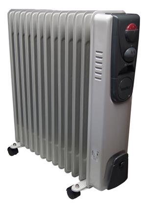 Two oil heaters for sale. 12 fin
