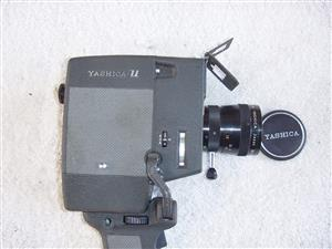 Vintage Yashica Movie Camera - in original carry case
