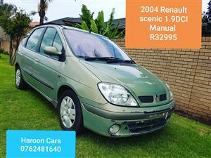 d4e730f314 2004 Renault Scénic 1.9dCi Dynamique