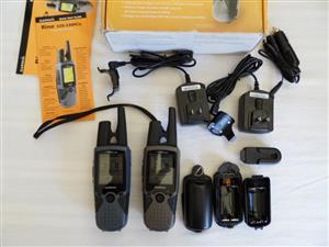Garmin Rino 520 HCx and Garmin Rino 530HCx Two-way Radio with Handheld GPS
