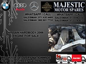 Nissan hard body engine for sale