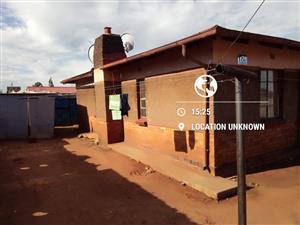 Katlehong/ Skhosana 2 bedroom House 4 Sale