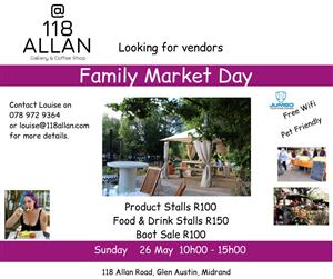 Family Day Market - Vendors Wanted