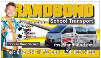 Randbond Kids School Transport.