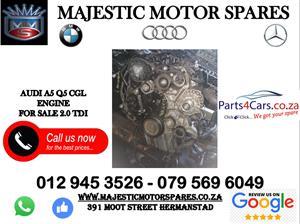 Audi CGL engine for sale
