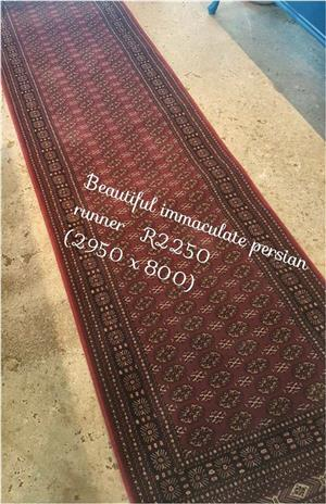 Persian runner for sale