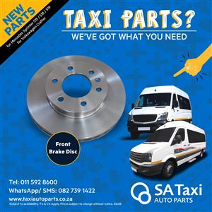 New Front Brake Disc suitable for Mercedes Sprinter 515 / 518 / 519 - VW Crafter double wheel buses