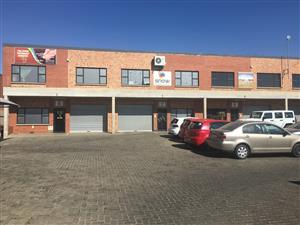HENNOPS PARK MINI FACTORY / WAREHOUSE TO LET!