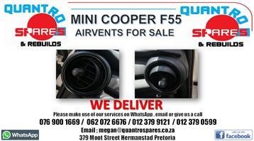 Mini Cooper F55 Airvents for sale