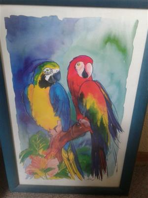 beautiful paintings by Hettie Saaiman.