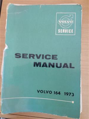Volvo 164 1973 Service Manual