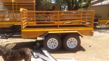 Trailer x2 axle for sale