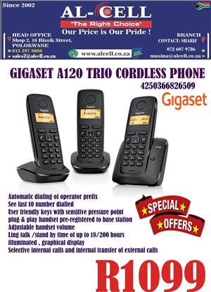 Gigaset A120 TRIO Cordless Phone