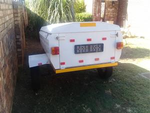 6 Feet trailer with nosecone for sale