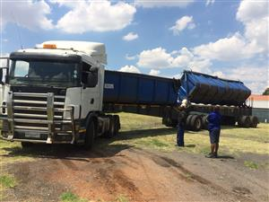 SIDE TIPPER TRAILER REPAIRS, SERVICES AND REFURBISHMENTS-073 677 9713