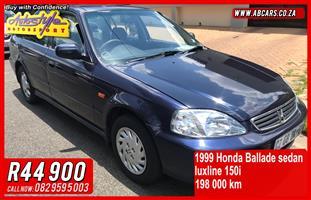 1999 Honda Ballade 1.5 Comfort automatic