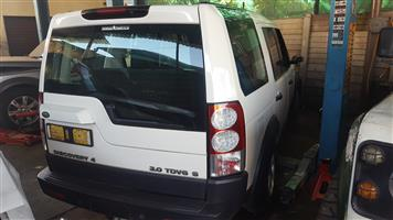 Land Rover Discovery 4 - Stripping for spares | AUTO EZI