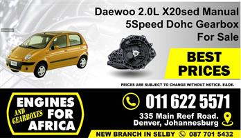Daewoo 2.0L X20sed 2.0L Dohc 99-05 Auto Gearbox For Sale