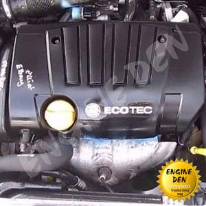 OPEL ASTRA ECOTEC NEW TYPE  1.8 16V X18XE USED ENGINE
