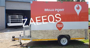 Large Food Trailers 3.0L x 1.8W...Brand New+Fully Equipped!