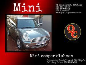 2010 Mini Clubman Cooper S  auto