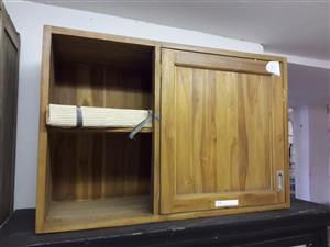 Unique Solid Wood Cupboard