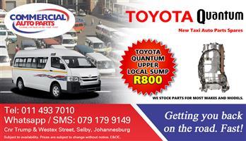 Upper Sump For Toyota Quantum Sesfikile For Sale.