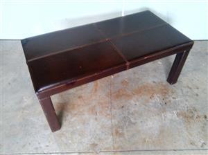 Mahogany rectangular coffee table for sale  Centurion