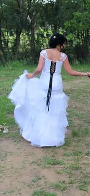 Beautiful Lace drop waist dress