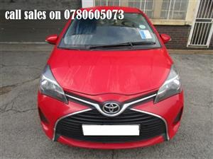 2015 Toyota Yaris hatch YARIS 1.5 Xi 5Dr