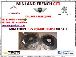 R53 Brake disks for sale