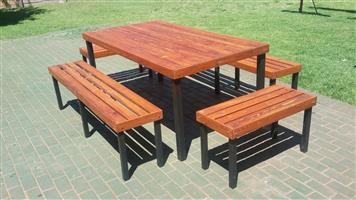 Wooden and iron Furniture