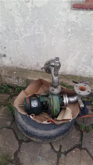 KSV water pump for sale . With stainless fittings