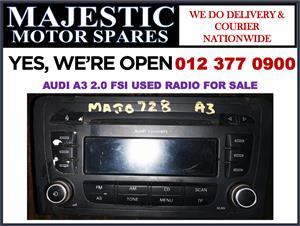 Audi A3 2.0 FSI used radio for sale audi used spares