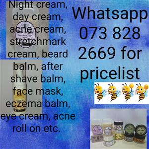 Handmade all natural skin, body and hair products